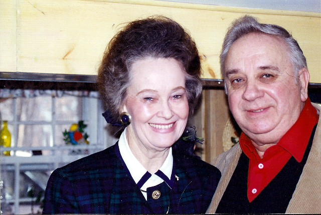 Ed (right) and Lorraine (left) Warren
