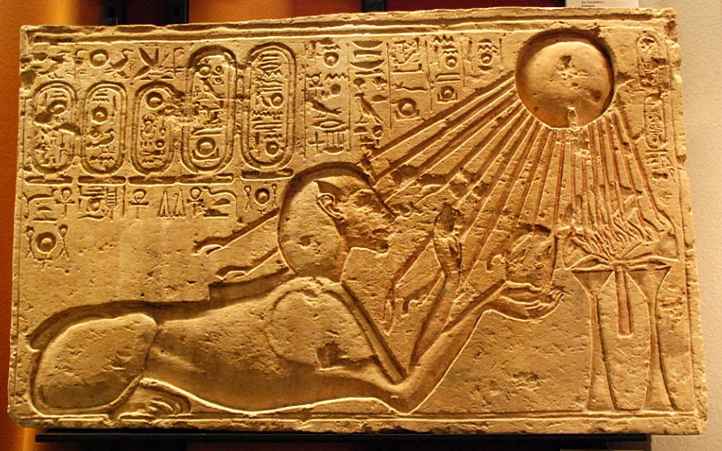 akhenaten_as_a_sphinx-kestner_museum
