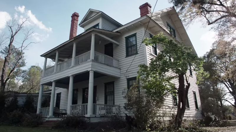 House used in filming of The Conjuring (2013)