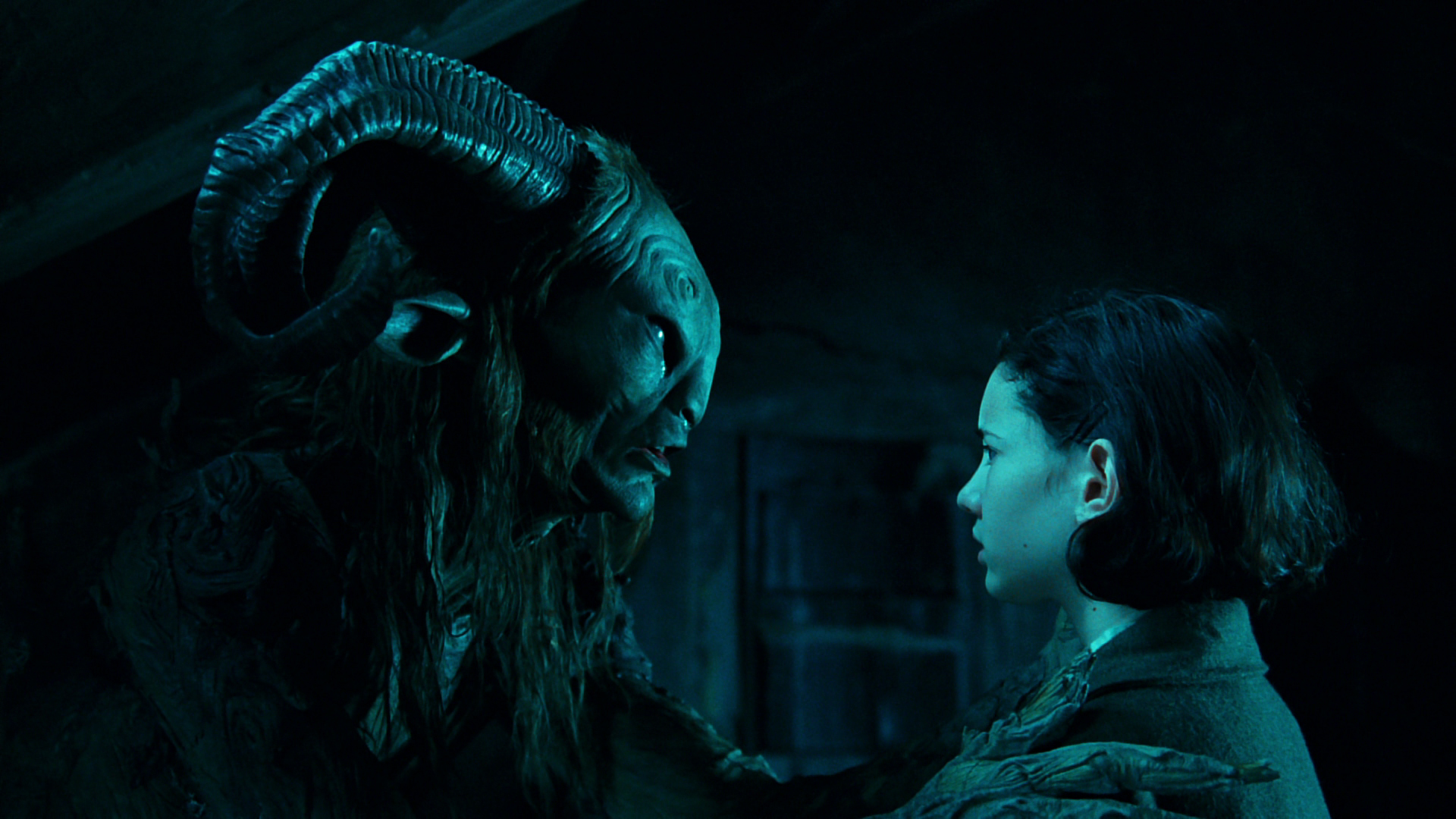 a scene analysis of pans labyrinth a movie by guillermo del toro Guillermo del toro's latest film may not be as deep as it thinks, but it overflows  with visual  the shape of water is like pan's labyrinth with more steamy   the scenes between the lovelorn elisa and her piscine paramour.